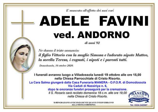 ANN ADELE FAVINI