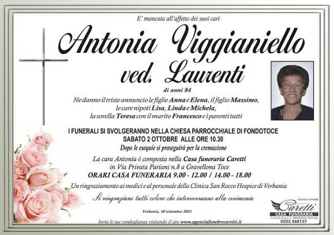 Antonia Viggianiello ved. Laurenti