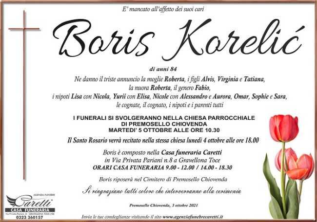 Boris Korelic
