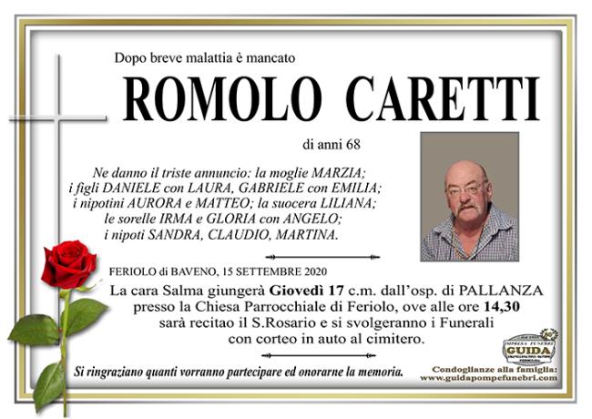 CARETTI ROMOLO