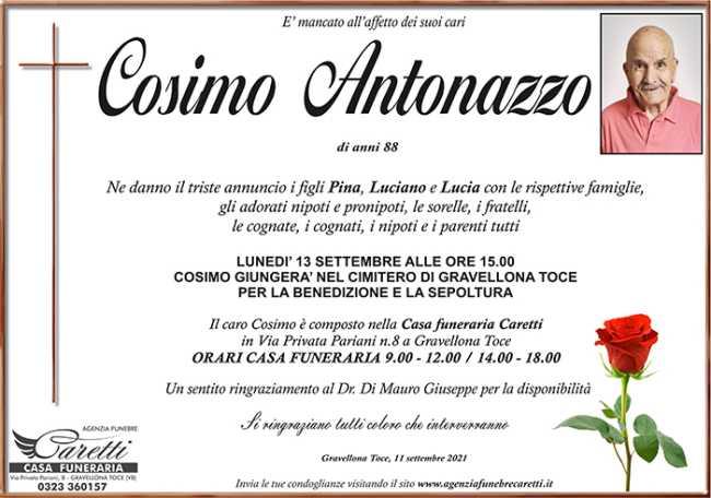 Cosimo Antonazzo Cusio