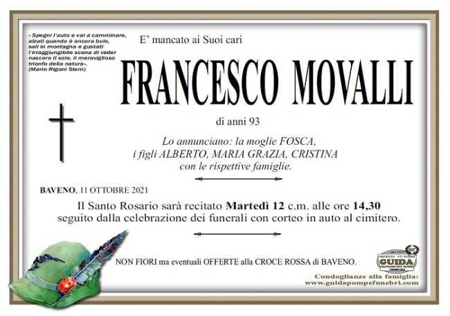 Francesco Movalli
