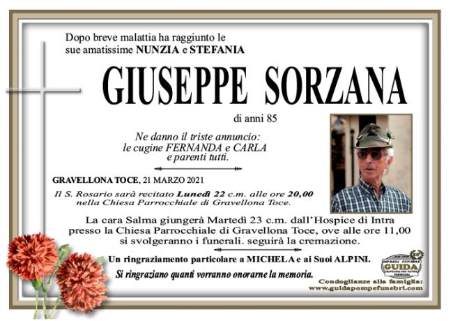 GIUSEPPE SORZANA
