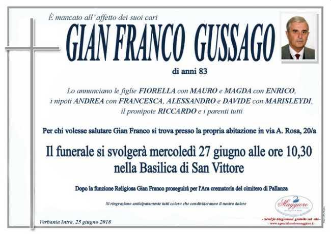 Gian Franco Gussago