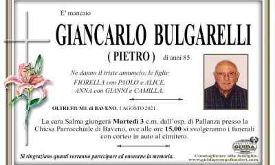 Giancarlo Bulgarelli Pietro