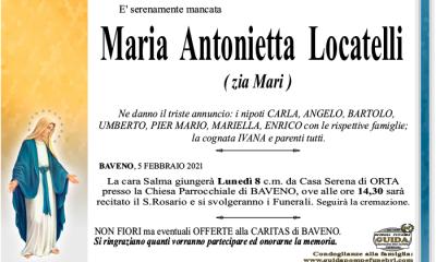 LOCATELLI MARIA ANTONIETTA