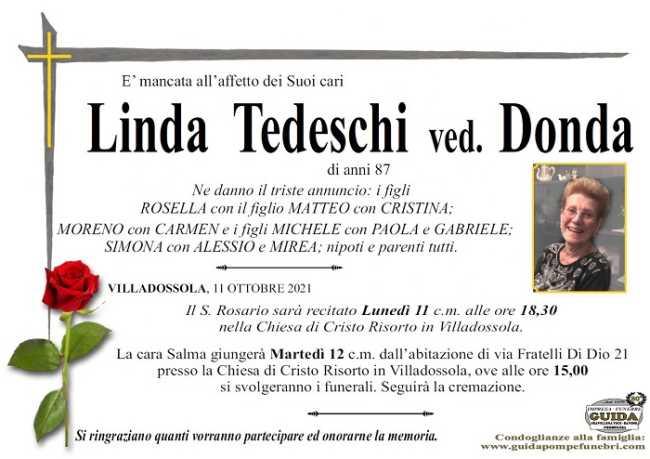 Linda Tedeschi ved. Donda