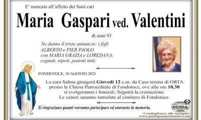 Maria Gaspari ved. Valentini
