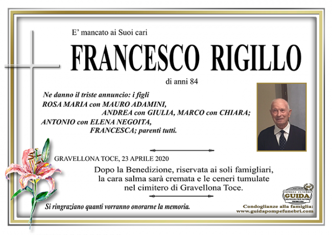 RIGILLO FRANCESCO