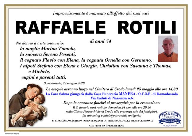 annuncio Rotili Raffaele