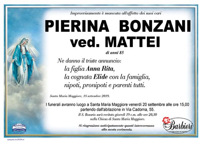 annuncio Bonzani Pierina