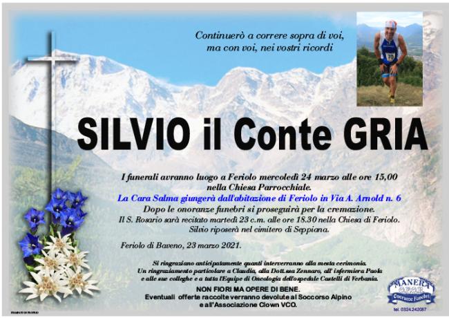 annuncio Gria Silvio