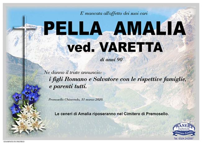 annuncio Pella Amalia