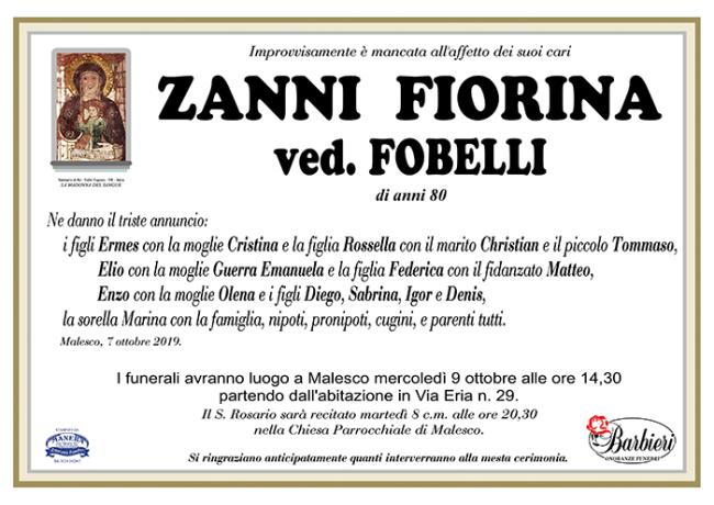 annuncio Zanni Fiorina