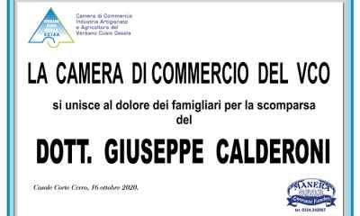 calderoni Camera di Commercio VCO
