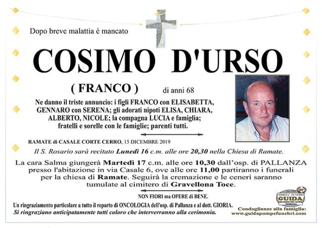 cosimo DURSO1