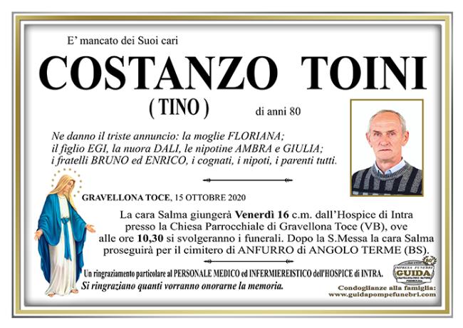 costanzo TOINI