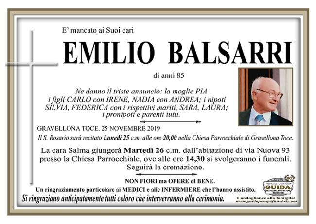 cusio emilio BALSARRI