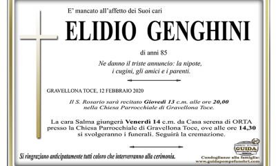 elidio GENGHINI