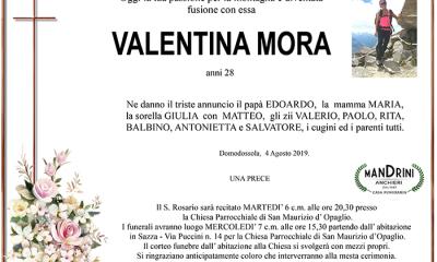funebre VALENTINA MORA