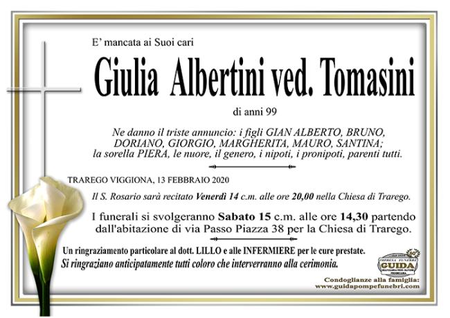 giulia albertini TOMASINI