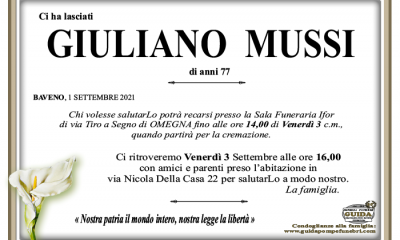 giuliano MUSSI