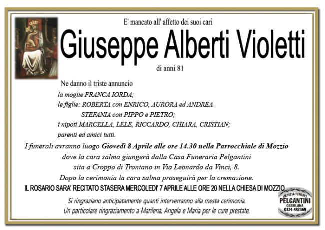 giuseppe ALBERTI VIOLETTI 1