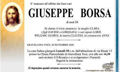 giuseppe BORSA