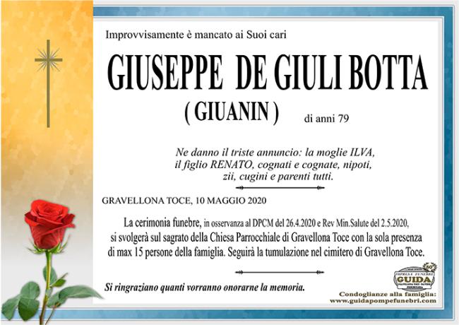 giuseppe DEGIULIBOTTA1