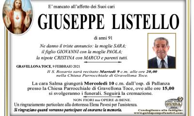 giuseppe LISTELLO