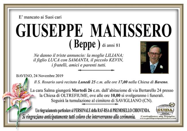 giuseppe MANISSERO
