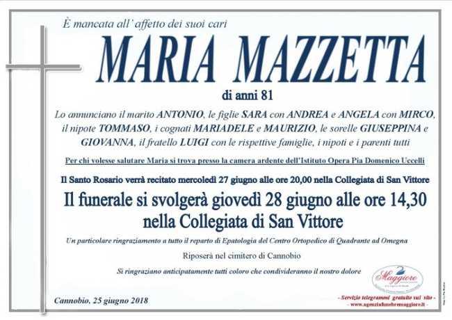 maria mazzetta