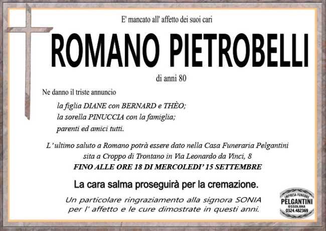 romano PIETROBELLI