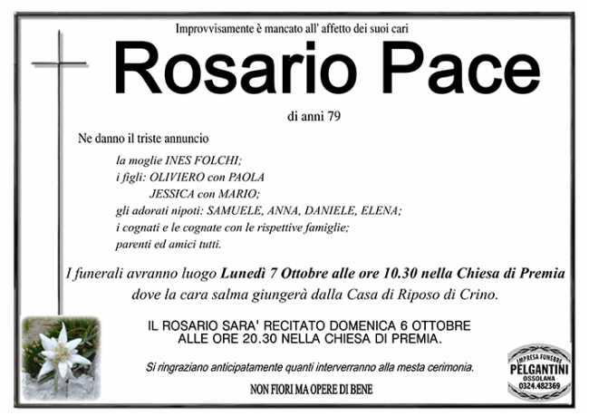 rosario pace