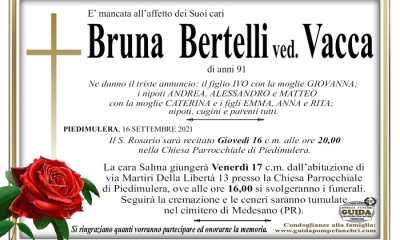 Bruna Bertelli ved. Vacca