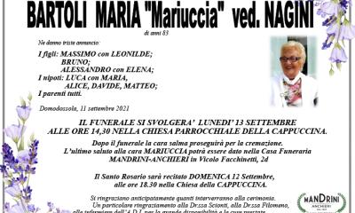 Funebre BARTOLI MARIA
