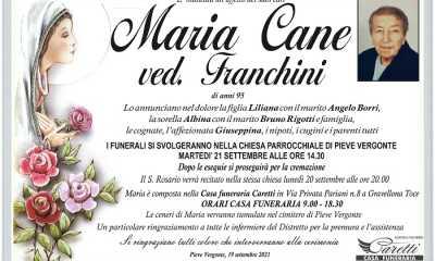 Maria Cane ved. Franchini