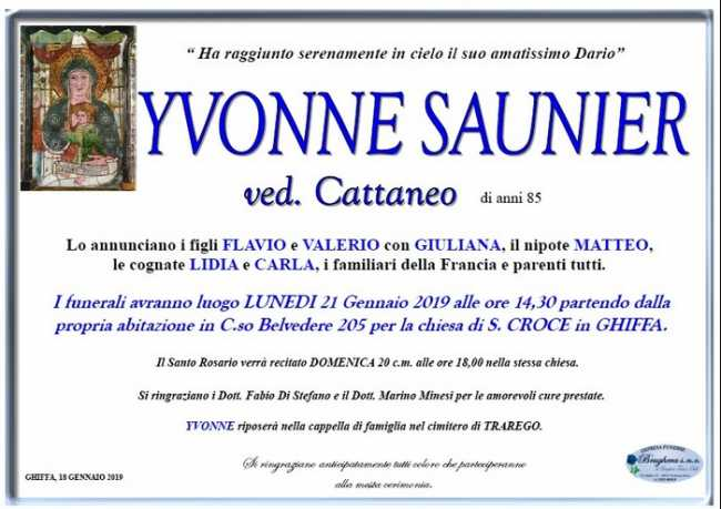 Yvonne saunier man