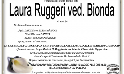 bionda in RUGGERI