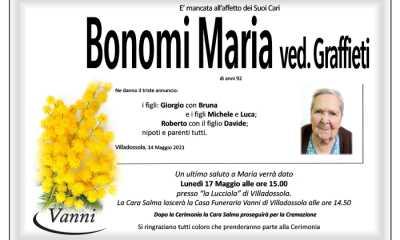 bonomi Annuncio mod. 390 con Garofano Bonomi