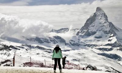 cervino sci neve montagna