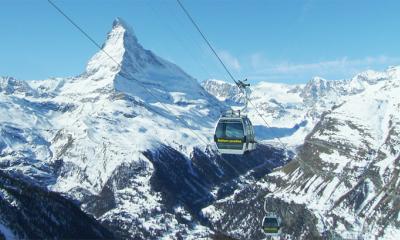 cervino sci neve skilift zermatt