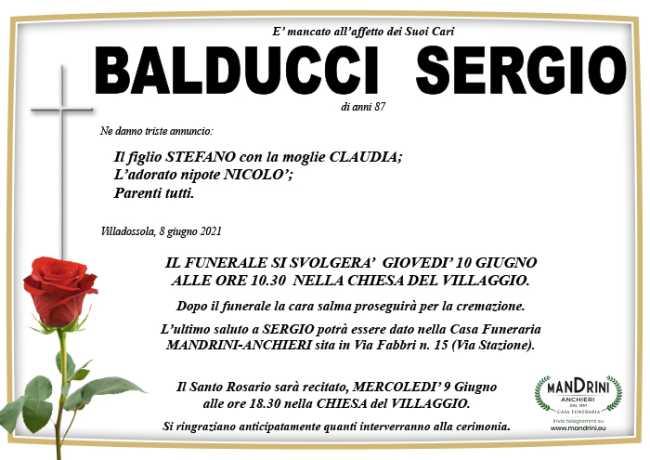 funebre BALDUCCI SERGIO