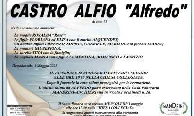 funebre CASTRO ALFIO