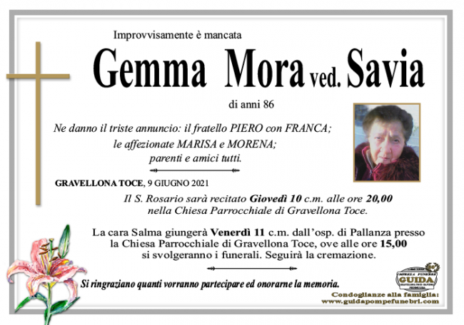 gemma MORA