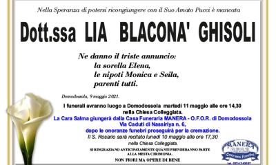 ghisoli ANN Lia Blacconà