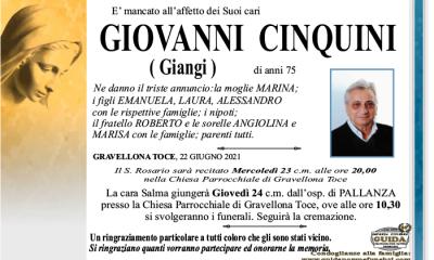 giangi CINQUINI