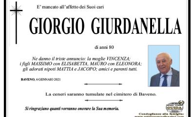 giorgio GIURDANELLA