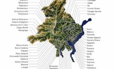 mappa comuni vco