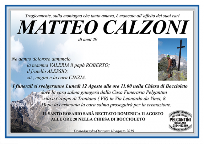 matteo CALZONI